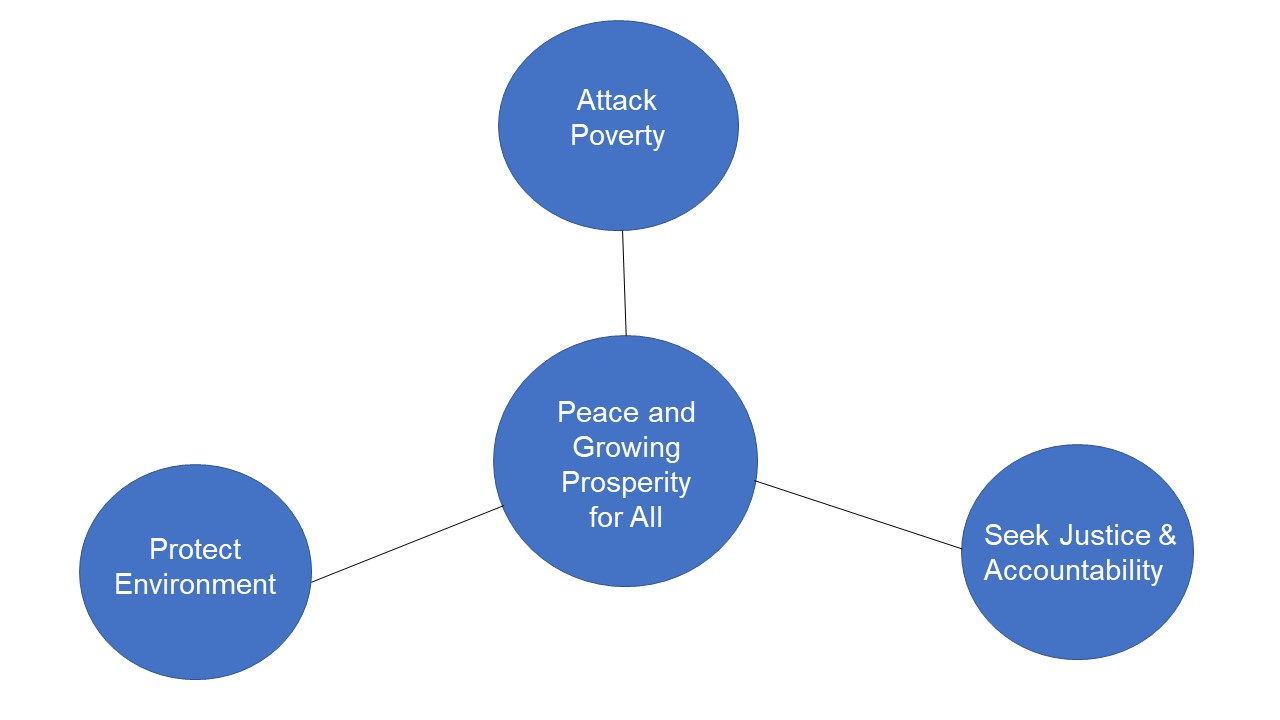 Coalition Peace Initiative Petition Diagram